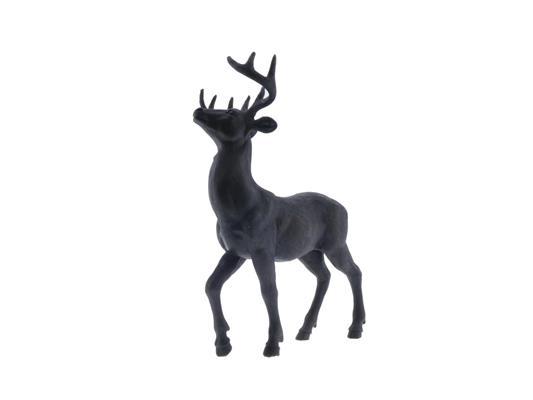 <h4>Fig. Reindeer 24x14x30cm Black</h4>