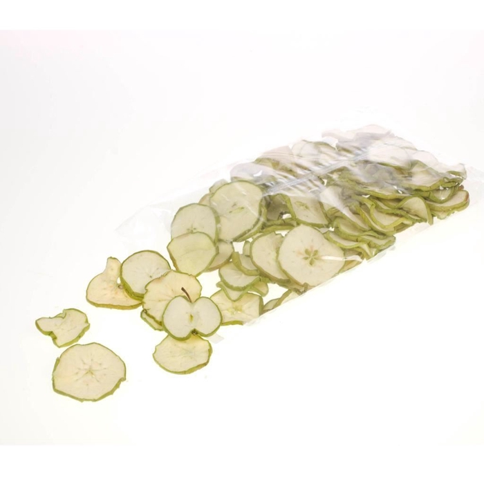 <h4>Apple sliced 250gr bag SB green natural</h4>