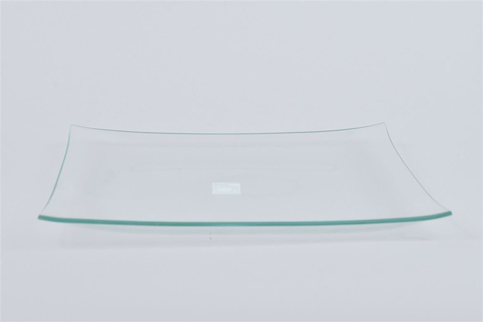 <h4>Glas Schaal Vierkant 25x25x2cm</h4>