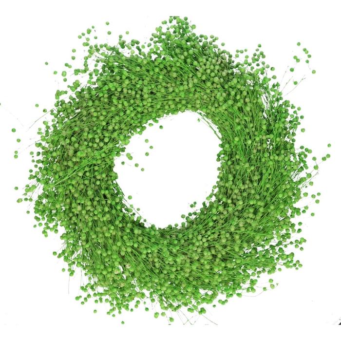 <h4>Wreath d40cm Vlas</h4>