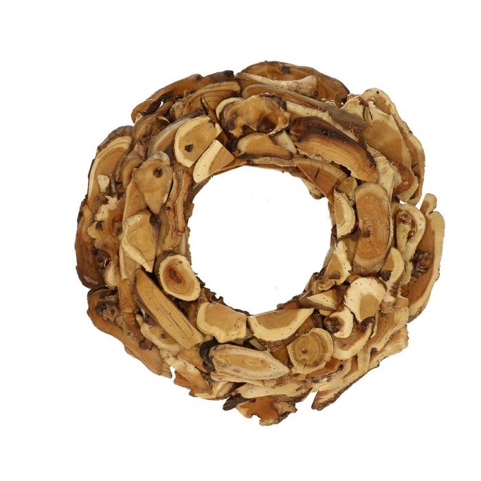 <h4>Wreath d40cm Kuwa slice</h4>