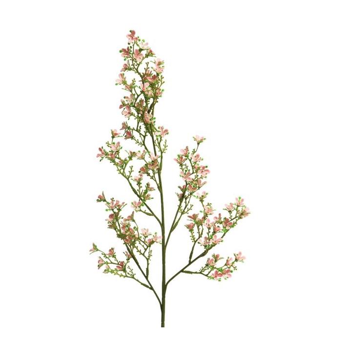 <h4>SILK FLOWERS - WILD BOUVARDIA MARNI SPRAY LARGE PINK 79 CM</h4>