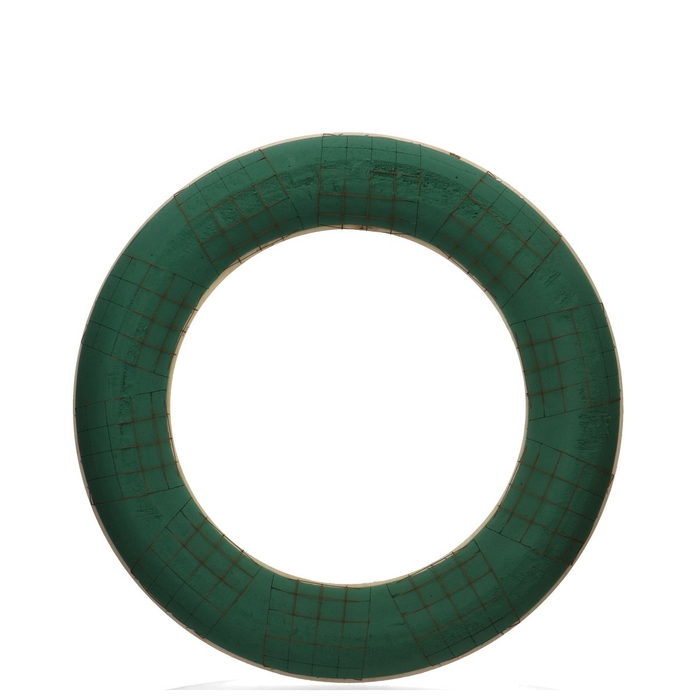 <h4>Foam Basic Wreath+wood d55cm</h4>