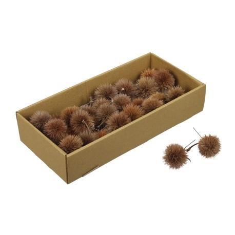 <h4>Dried fruit Kartoos ball/wire 10cm x26</h4>