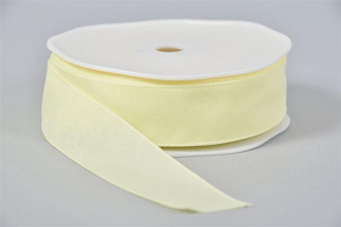 <h4>Lint Textiel 50 Lichtgeel 20mx25mm</h4>