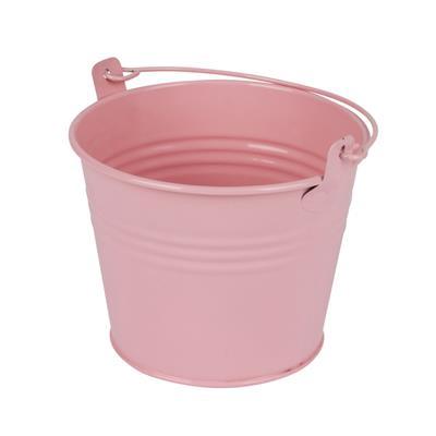 <h4>Bucket Sevilla zinc Ø11,7xH9cm - ES10,5 pink gloss</h4>