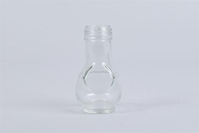 <h4>Glas Fles Rond Helder</h4>
