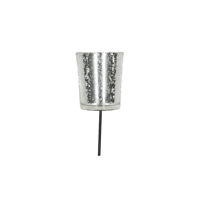 <h4>Theelichth. Waxineglas/steker d5*6/15cm</h4>