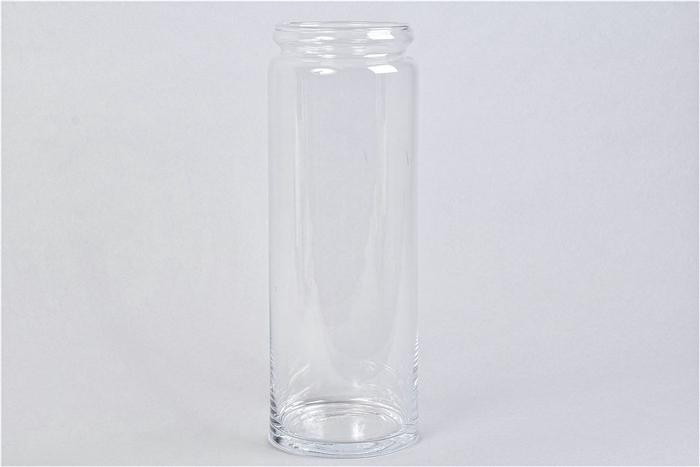 <h4>Glas Cilinder Melkbus 12,5x35cm</h4>