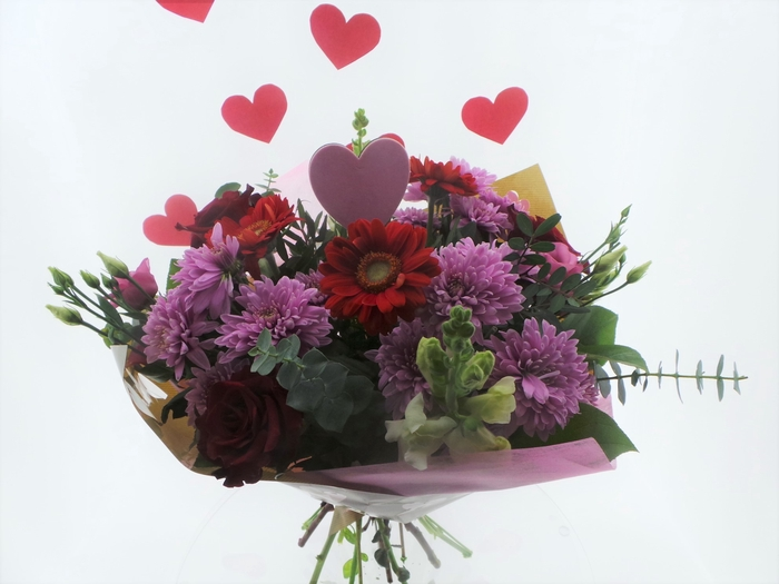 <h4>Bouquet Sweetheart Pink</h4>