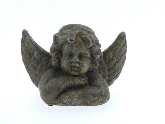 <h4>Angel Concrete 27x14x19 Rust</h4>