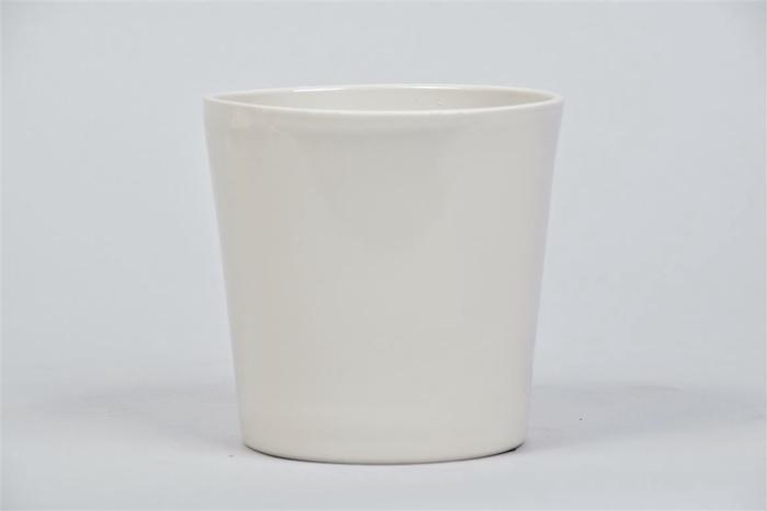 <h4>Nice Pot Grijs Glans Orchidee 12x12cm</h4>