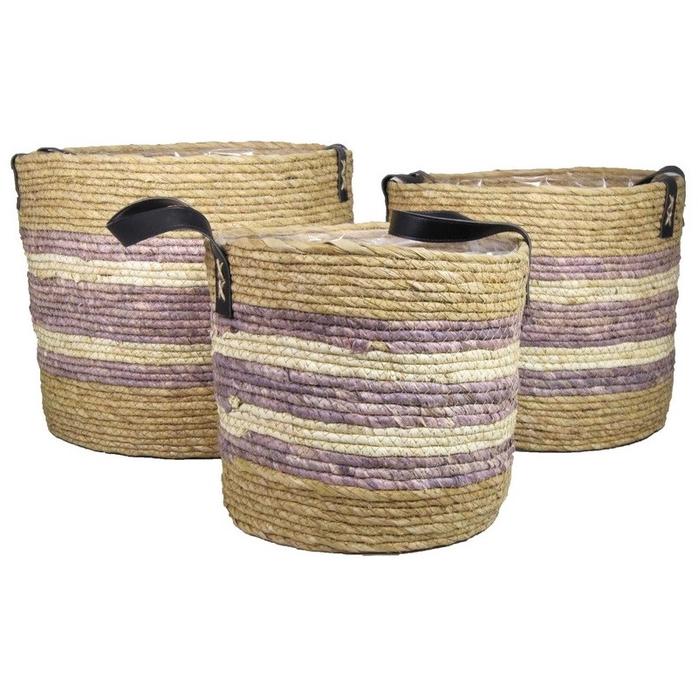 <h4>Baskets Ambon S/3 d36*32cm</h4>