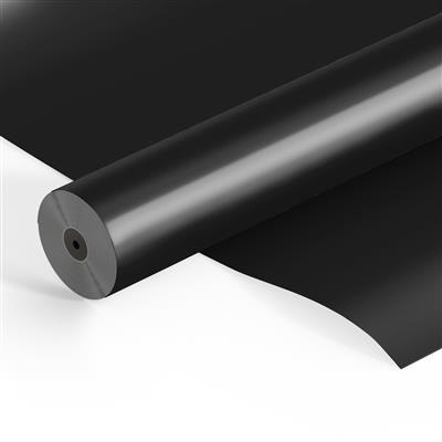 <h4>Folie rol OPP25mu 500mtr x 60cm Frost zwart</h4>