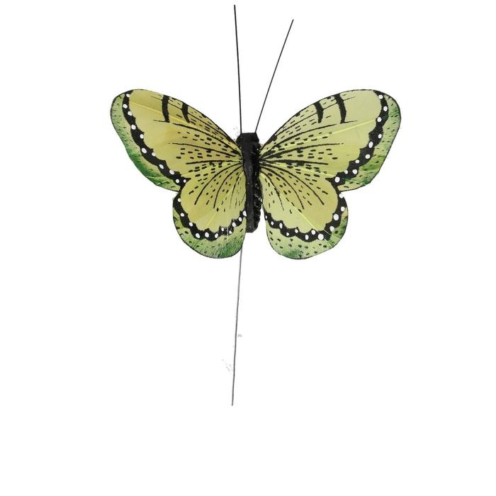 <h4>Autumn Butterfly/wire 10.5cm ass.</h4>