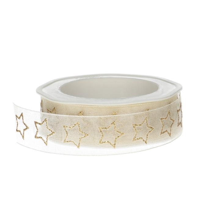 <h4>Christmas Star glitter 25mm 15m</h4>