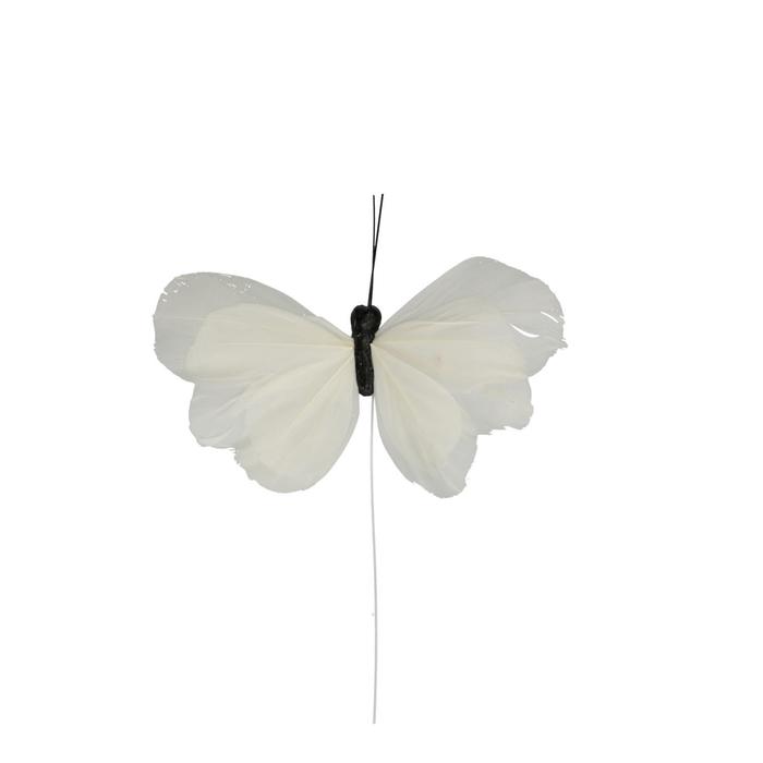 <h4>Voorjaar Vlinder/draad 12cm x16</h4>