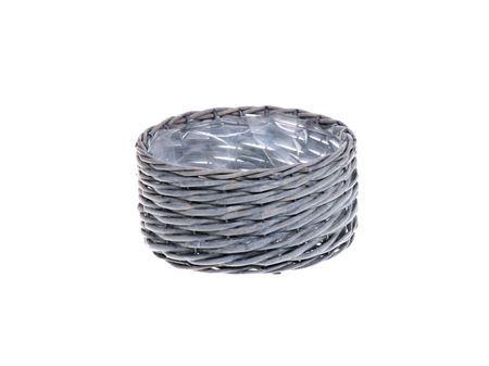 <h4>Basket Benthe d27.5xh12 grey</h4>