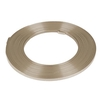 Aluminum wire flat - 5mmx10m champagne