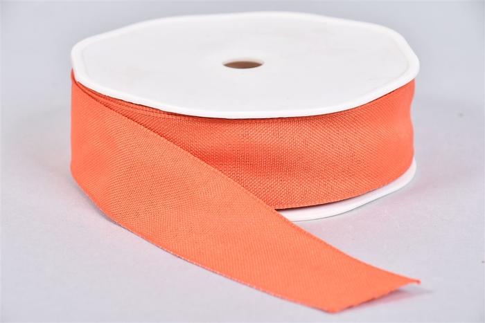 <h4>Lint Textiel 57 Orange Berry 20mx25mm</h4>