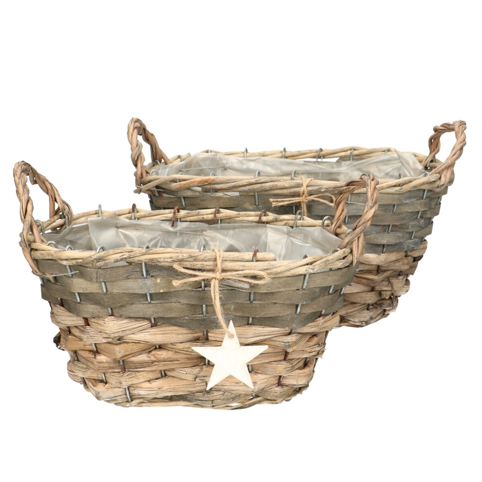 <h4>All Saints Luna basket star S2 20*18*20cm</h4>