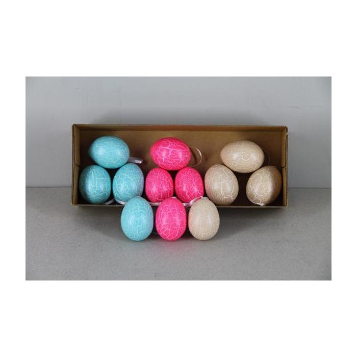 <h4>Egg Ch.hng.crack Mix Col(12pc)</h4>