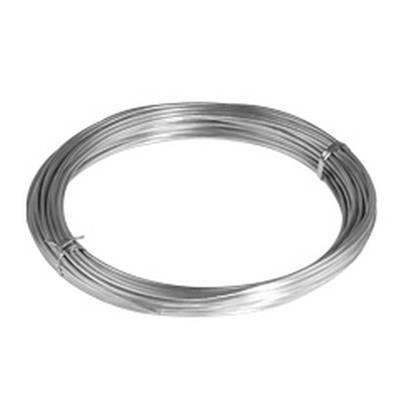 <h4>Gelakt aluminiumdraad - zilver 100 gram (12 meter)</h4>