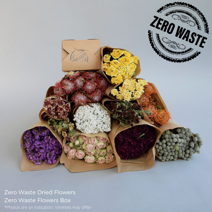 <h4>ZERO WASTE FLOWERS BOX</h4>
