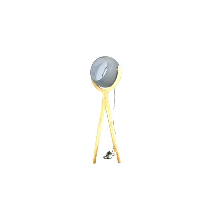 <h4>Lamp Floor Tripod H:156 Grey/n</h4>