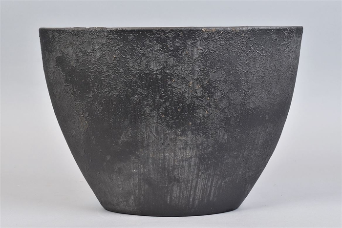 <h4>Bali Black Coal Schaal Ovl 39x19x27cm</h4>
