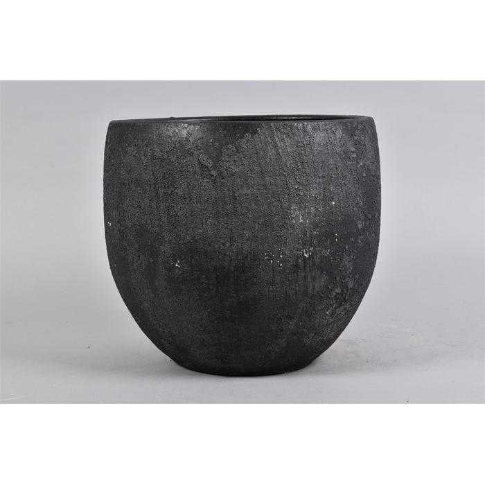 <h4>Bali Black Coal Pot 30x27cm</h4>