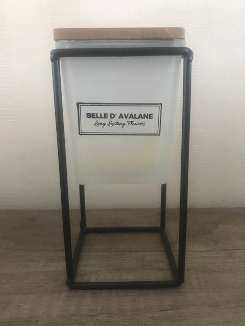 Geurkaars vk wit / Vanille