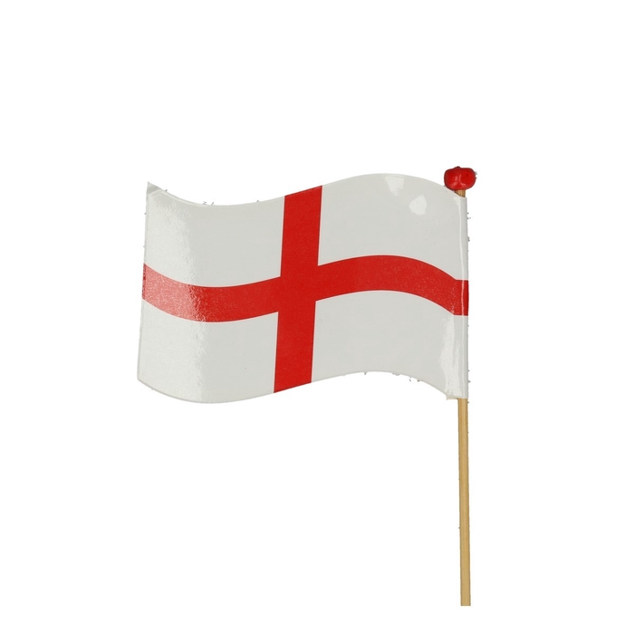 <h4>Bijsteker 50cm Vlag Engeland 5*7cm</h4>