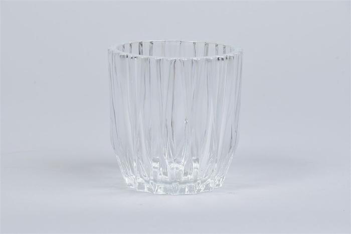 <h4>Glas Pot Geo 10x11cm</h4>