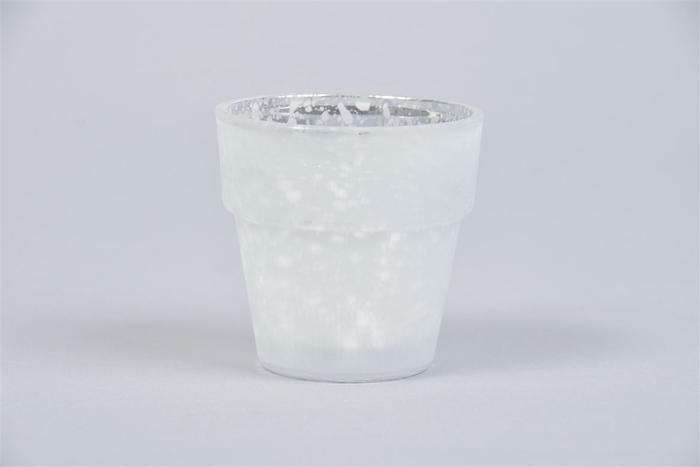 <h4>Waxine Mat Zilver 7cm</h4>