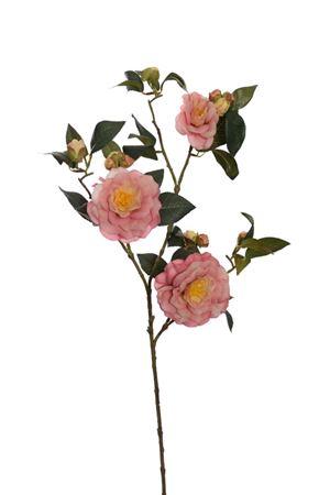 <h4>Camelia rose spray Unity 88cm beige</h4>