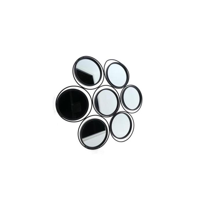 <h4>Mirror Mtl 84x70,5cm Black</h4>