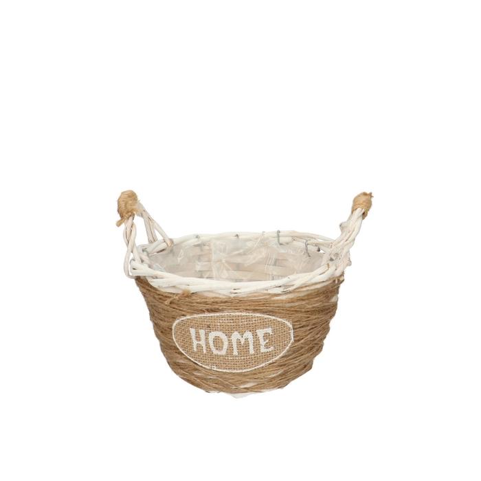 <h4>Baskets Home round+handle d18*17cm</h4>