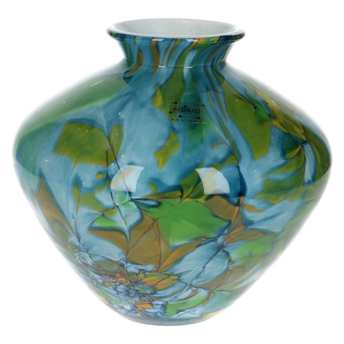 <h4>Glas Fidrio Dynamic vaas belly 20cm</h4>