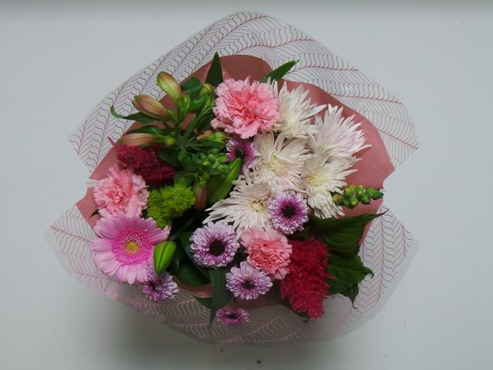 Bouquet 13 stems Pink