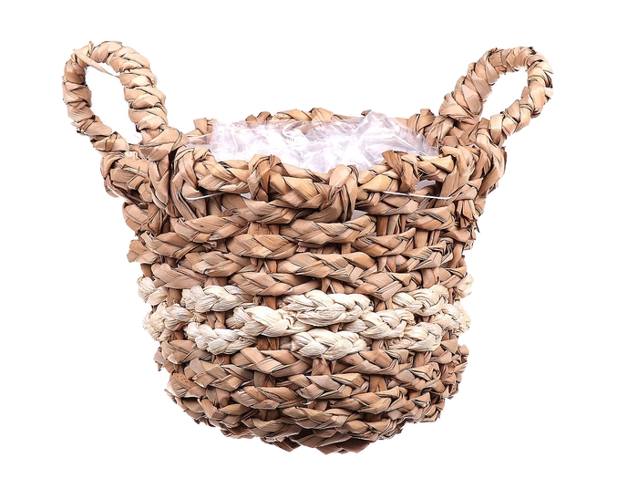 <h4>DF470592700 - Basket water grass natural round + ears</h4>