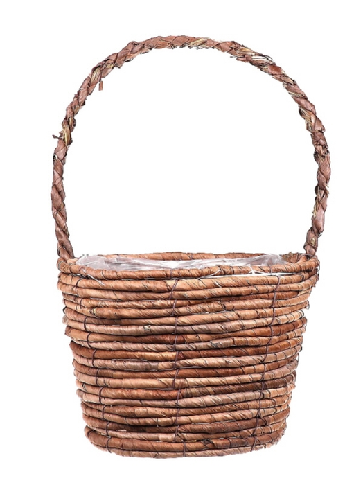 <h4>DF662740100 - H.basket Banana tree bark d25xh18/43</h4>