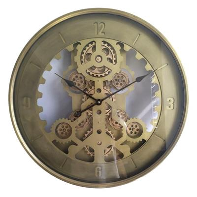 <h4>Clock Gear Ø60cm Gold 83796</h4>