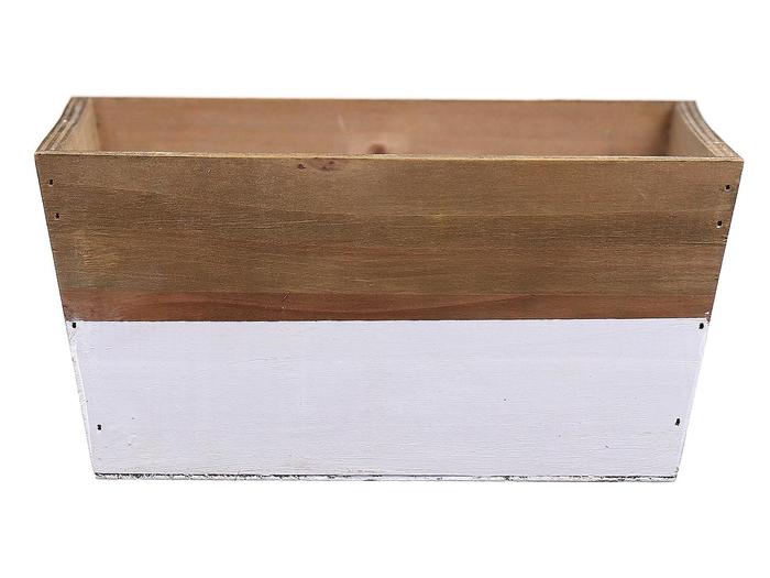 <h4>DF662681900 - Planter Argo3 21x21x10 white/natural</h4>