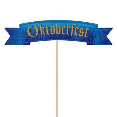 <h4>Pique Oktoberfest 3,5x15cm+50cm bâton</h4>