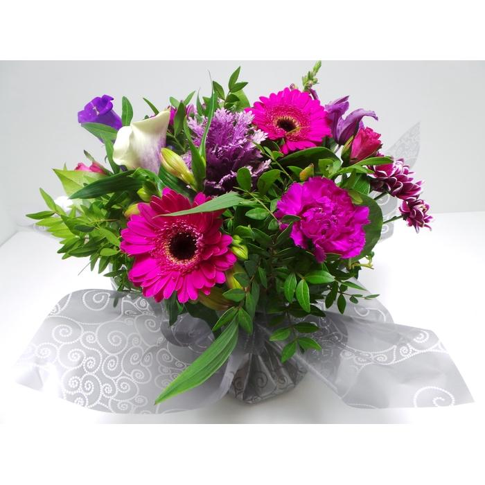 <h4>Bouquet Aqua Large Lilac</h4>