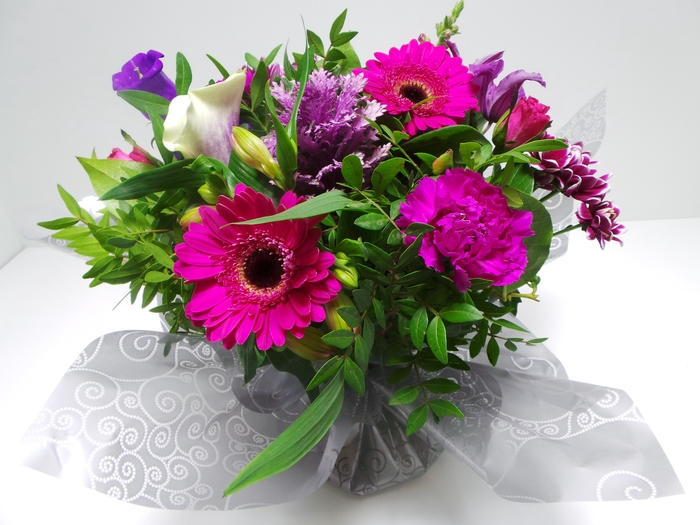 <h4>Bouquet Aqua Large Lilac</h4>