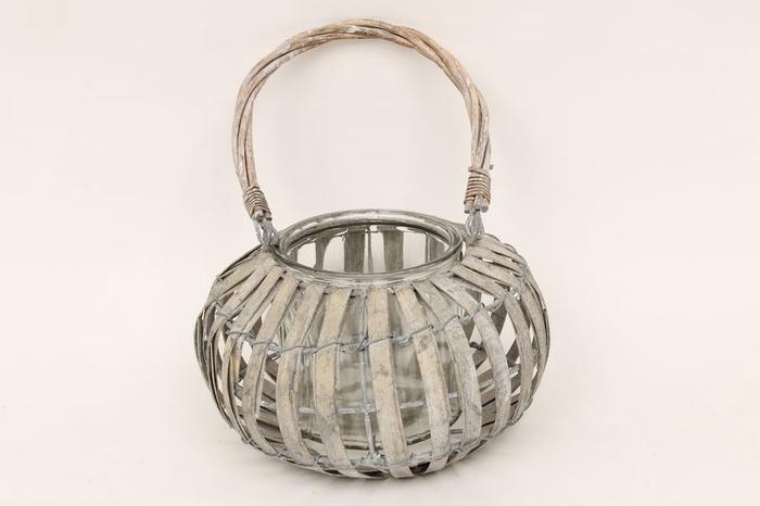 <h4>JC990012 - CHipwood lantern basket</h4>