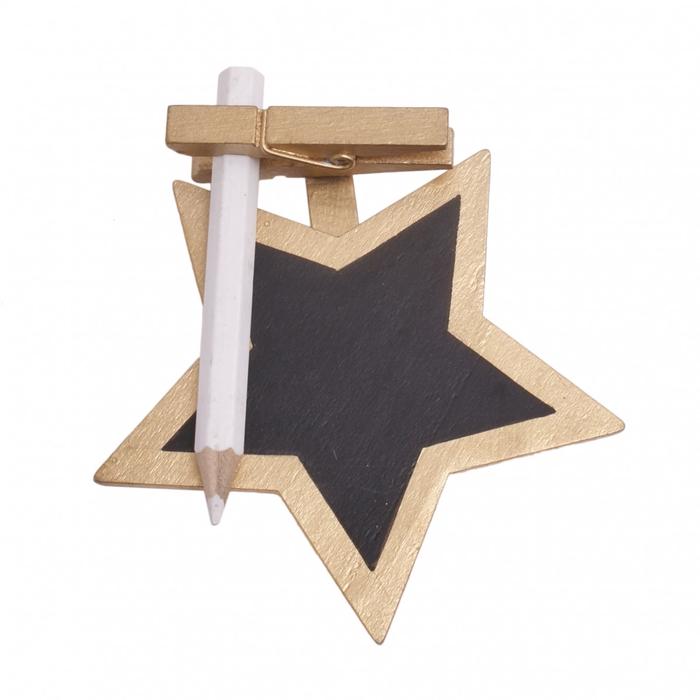 <h4>Christmas Pegs chalkboard 8.5cm x25</h4>