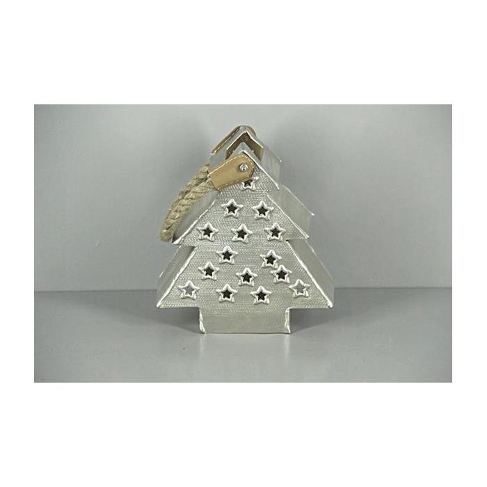 <h4>Lantern Mtl Tree Nickle/gold20</h4>